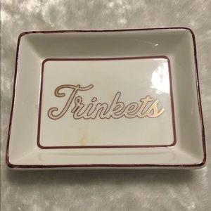 ☘️I. Godinger & Co. Porcelain Trinket Tray☘️